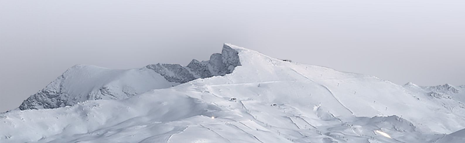 The iconic peak in the Sierra Nevada that served as design inspiration.