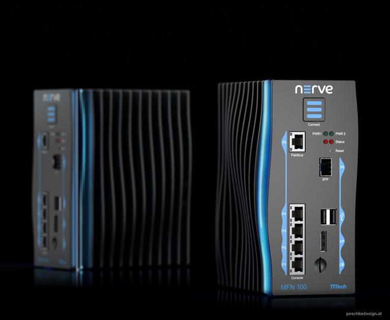 Produktdesign für ein Industrie 4.0 device.