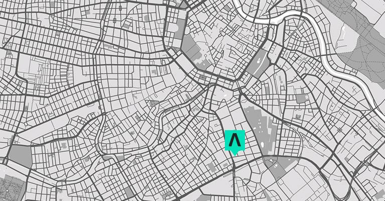 Adresse von Antimatter Produktdesign in Wien.